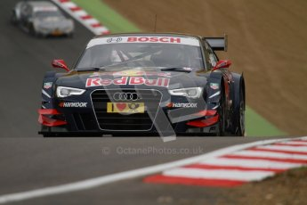 © Octane Photographic Ltd. 2012. DTM – Brands Hatch  - Friday Practice 1. Digital Ref : 0340lw7d9705