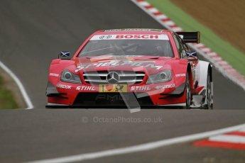© Octane Photographic Ltd. 2012. DTM – Brands Hatch  - Friday Practice 1. Susie Wolff - TV Spielfilm Mercedes AMG C-Coupe. Digital Ref : 0340lw7d9715