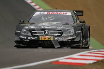 © Octane Photographic Ltd. 2012. DTM – Brands Hatch  - Friday Practice 1. Gary Paffett - Mercedes AMG C-Coupe - Thomas Sabo Mercedes AMG. Digital Ref : 0340lw7d9723