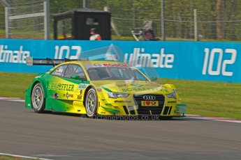 © Octane Photographic Ltd. 2012. DTM – Brands Hatch  - Saturday 19th May 2012. Mike Rockenfeller - Audi A5 DTM - Audi Sport Team Phoenix. Digital Ref :
