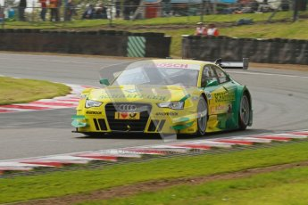 © Octane Photographic Ltd. 2012. DTM – Brands Hatch  - Saturday 19th May 2012. Mike Rockenfeller - Audi A5 DTM - Audi Sport Team Phoenix. Digital Ref :