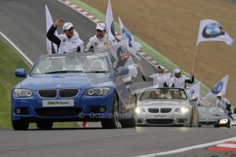 © Octane Photographic Ltd. 2012. DTM – Brands Hatch  - Drivers Parade. Sunday 20th May 2012. Digital Ref : 0348lw7d5723