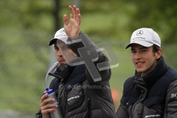 © Octane Photographic Ltd. 2012. DTM – Brands Hatch  - Drivers Parade. Sunday 20th May 2012. Digital Ref : 0348lw7d5774