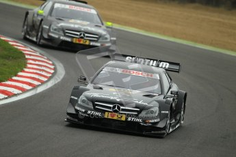 © Octane Photographic Ltd. 2012. DTM – Brands Hatch  - DTM Warm up session. Sunday 20th May 2012. Gary Paffett - Mercedes AMG C-Coupe - Thomas Sabo Mercedes AMG. Digital Ref :