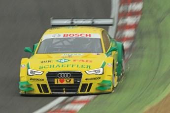 © Octane Photographic Ltd. 2012. DTM – Brands Hatch  - DTM Warm up session. Sunday 20th May 2012. Mike Rockenfeller - Audi A5 DTM - Audi Sport Team Phoenix. Digital Ref :