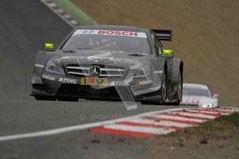 © Octane Photographic Ltd. 2012. DTM – Brands Hatch  - DTM Warm up session. Sunday 20th May 2012. Digital Ref : 0347lw7d4953