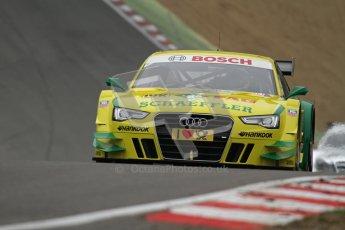 © Octane Photographic Ltd. 2012. DTM – Brands Hatch  - Race. Sunday 20th May 2012. Mike Rockenfeller - Audi A5 DTM - Audi Sport Team Phoenix. Digital Ref :