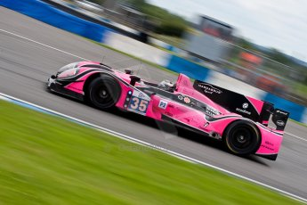 © Octane Photographic Ltd/ Chris Enion. European Le Mans Series. ELMS 6 Hours at Donington Park. Sunday 15th July 2012. Digital Ref: 409ce1d0029