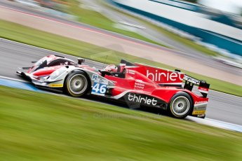 © Octane Photographic Ltd/ Chris Enion. European Le Mans Series. ELMS 6 Hours at Donington Park. Sunday 15th July 2012. Digital Ref: 409ce1d0328