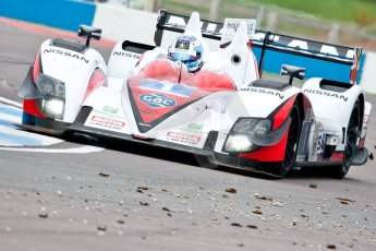 © Octane Photographic Ltd/ Chris Enion. European Le Mans Series. ELMS 6 Hours at Donington Park. Sunday 15th July 2012. Digital Ref: 409ce1d0705
