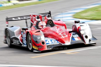 © Octane Photographic Ltd/ Chris Enion. European Le Mans Series. ELMS 6 Hours at Donington Park. Sunday 15th July 2012. Digital Ref: 409ce1d0914