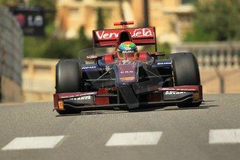 © Octane Photographic Ltd. 2012. F1 Monte Carlo - GP2 Practice 1. Thursday  24th May 2012. Fabrizio Crestani - Venezula GP Lazarus. Digital Ref : 0353cb1d0619