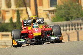 © Octane Photographic Ltd. 2012. F1 Monte Carlo - GP2 Practice 1. Thursday  24th May 2012. Nathanael Berthon - Racing Engineering. Digital Ref : 0353cb1d0623
