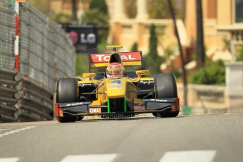 © Octane Photographic Ltd. 2012. F1 Monte Carlo - GP2 Practice 1. Thursday  24th May 2012. Felipe Nasr - DAMS. Digital Ref : 0353cb1d0635
