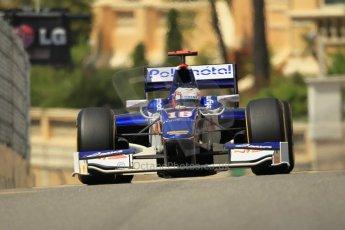 © Octane Photographic Ltd. 2012. F1 Monte Carlo - GP2 Practice 1. Thursday  24th May 2012. Stephane Richelmi - Trident Racing. Digital Ref : 0353cb1d0645