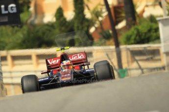 © Octane Photographic Ltd. 2012. F1 Monte Carlo - GP2 Practice 1. Thursday  24th May 2012. Giancarlo Serenelli - Venezula GP Lazarus. Digital Ref : 0353cb1d0669