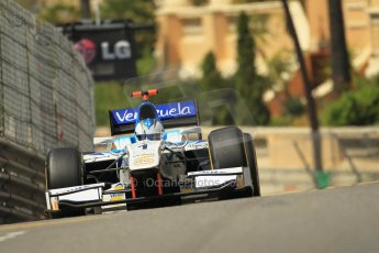 © Octane Photographic Ltd. 2012. F1 Monte Carlo - GP2 Practice 1. Thursday  24th May 2012. Johnny Cecotto Jr. - Barwa Addax Team. Digital Ref : 0353cb1d0677