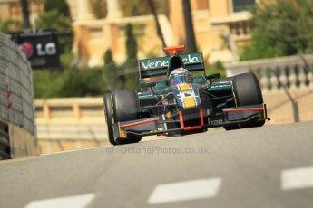 © Octane Photographic Ltd. 2012. F1 Monte Carlo - GP2 Practice 1. Thursday  24th May 2012. Rodolfo Gonzales - Caterham Racing. Digital Ref : 0353cb1d0702