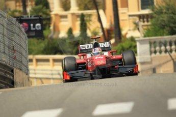 © Octane Photographic Ltd. 2012. F1 Monte Carlo - GP2 Practice 1. Thursday  24th May 2012. Stefano Coletti - Scuderia Coloni. Digital Ref : 0353cb1d0710