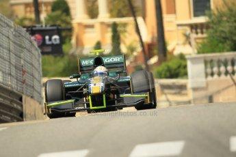 © Octane Photographic Ltd. 2012. F1 Monte Carlo - GP2 Practice 1. Thursday  24th May 2012. Giedo van der Garde - Caterham Racing. Digital Ref : 0353cb1d0781