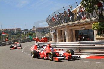 © Octane Photographic Ltd. 2012. F1 Monte Carlo - GP2 Practice 1. Thursday  24th May 2012. Simon Trummer - Arden International. Digital Ref : 0353cb7d7646