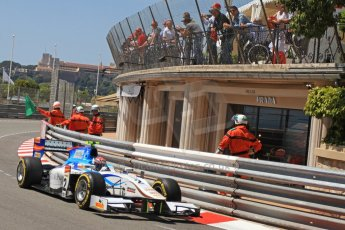 © Octane Photographic Ltd. 2012. F1 Monte Carlo - GP2 Practice 1. Thursday  24th May 2012. Josef Kral - Barwa Addax Team. Digital Ref : 0353cb7d7663