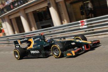 © Octane Photographic Ltd. 2012. F1 Monte Carlo - GP2 Practice 1. Thursday  24th May 2012. Rodolfo Gonzales - Caterham Racing. Digital Ref : 0353cb7d7714