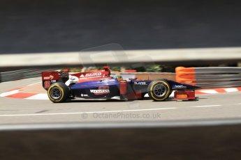 © Octane Photographic Ltd. 2012. F1 Monte Carlo - GP2 Practice 1. Thursday  24th May 2012. Fabrizio Crestani - Venezula GP Lazarus. Digital Ref : 0353cb7d7932