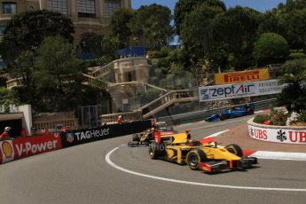 © Octane Photographic Ltd. 2012. F1 Monte Carlo - GP2 Practice 1. Thursday  24th May 2012. Davide Valsecchi - DAMS. Digital Ref : 0353cb7d7954