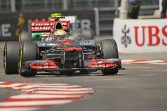 © Octane Photographic Ltd. 2012. F1 Monte Carlo - Qualifying - Session 1. Saturday 26th May 2012. Lewis Hamilton - McLaren. Digital Ref : 0355cb1d6617