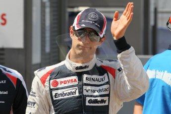 © Octane Photographic Ltd. 2012. F1 Monte Carlo - Qualifying - Session 3. Saturday 26th May 2012. Bruno Senna - Williams. Digital Ref : 0355cb1d6744