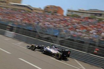 © Octane Photographic Ltd. 2012. F1 Monte Carlo - Qualifying - Session 1. Saturday 26th May 2012. Bruno Senna - Williams. Digital Ref : 0355cb7d8822