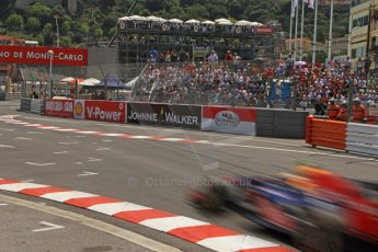 © Octane Photographic Ltd. 2012. F1 Monte Carlo - Qualifying - Session 2. Saturday 26th May 2012. Mark Webber - Red Bull. Digital Ref : 0355cb7d8858