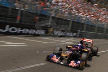© Octane Photographic Ltd. 2012. F1 Monte Carlo - Qualifying - Session 2. Saturday 26th May 2012. Daniel Ricciardo - Toro Rosso. Digital Ref : 0355cb7d8900