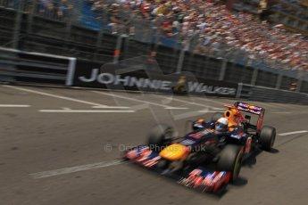 © Octane Photographic Ltd. 2012. F1 Monte Carlo - Qualifying - Session 2. Saturday 26th May 2012. Sebastian Vettel - Red Bull. Digital Ref : 0355cb7d8904