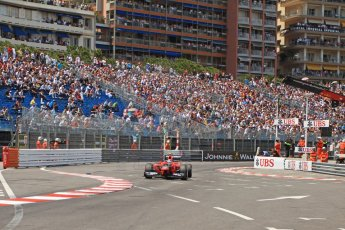© Octane Photographic Ltd. 2012. F1 Monte Carlo - Qualifying - Session 2. Saturday 26th May 2012. Charles Pic - Marussia. Digital Ref : 0355cb7d8933