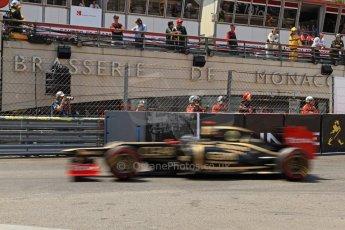 © Octane Photographic Ltd. 2012. F1 Monte Carlo - Qualifying - Session 2. Saturday 26th May 2012. Kimi Raikkonen - Lotus. Digital Ref : 0355cb7d8950