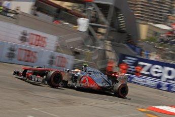 © Octane Photographic Ltd. 2012. F1 Monte Carlo - Qualifying - Session 2. Saturday 26th May 2012. Lewis Hamilton - McLaren. Digital Ref : 0355cb7d8961