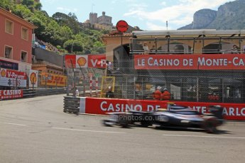 © Octane Photographic Ltd. 2012. F1 Monte Carlo - Qualifying - Session 3. Saturday 26th May 2012. Bruno Senna - Williams. Digital Ref : 0355cb7d9032