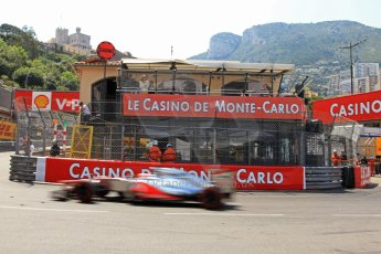 © Octane Photographic Ltd. 2012. F1 Monte Carlo - Qualifying - Session 3. Saturday 26th May 2012. Jenson Button - McLaren. Digital Ref : 0355cb7d9037