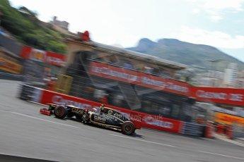 © Octane Photographic Ltd. 2012. F1 Monte Carlo - Qualifying - Session 3. Saturday 26th May 2012. Romain Grosjean - Lotus. Digital Ref : 0355cb7d9101