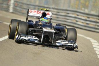 © Octane Photographic Ltd. 2012. F1 Monte Carlo - Practice 1. Thursday  24th May 2012. Bruno Senna - Williams. Digital Ref : 0350cb1d0278