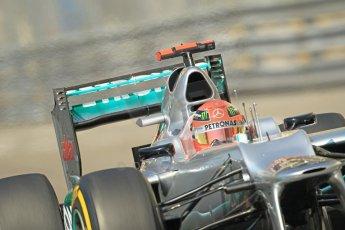 © Octane Photographic Ltd. 2012.  F1 Monte Carlo - Practice 1. Thursday  24th May 2012. Michael Schumacher - Mercedes. Digital Ref : 0350cb1d0287