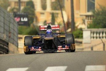 © Octane Photographic Ltd. 2012. F1 Monte Carlo - Practice 1. Thursday  24th May 2012. Daniel Ricciardo - Toro Rosso. Digital Ref : 0350cb1d0549