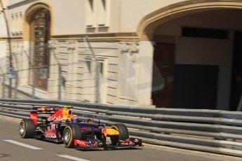 © Octane Photographic Ltd. 2012. F1 Monte Carlo - Practice 1. Thursday  24th May 2012. Mark Webber - Red Bull. Digital Ref : 0350cb7d7425