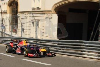 © Octane Photographic Ltd. 2012. F1 Monte Carlo - Practice 1. Thursday  24th May 2012. Mark Webber - Red Bull. Digital Ref : 0350cb7d7462