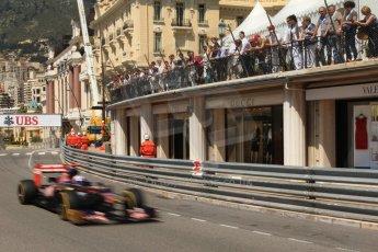 © Octane Photographic Ltd. 2012. F1 Monte Carlo - Practice 1. Thursday  24th May 2012. Daniel Ricciardo - Toro Rosso. Digital Ref : 0350cb7d7586