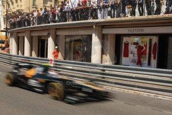 © Octane Photographic Ltd. 2012. F1 Monte Carlo - Practice 1. Thursday  24th May 2012. Vitaly Petrov - Caterham. Digital Ref : 0350cb7d7594