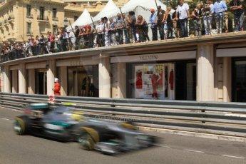 © Octane Photographic Ltd. 2012. F1 Monte Carlo - Practice 1. Thursday  24th May 2012. Nico Rosberg - Mercedes. Digital Ref : 0350cb7d7599