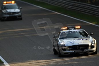© 2012 Octane Photographic Ltd. Italian GP Monza - Friday 7th September 2012 - F1 Practice 1. Mercedes Safety and Medical cars. Digital Ref : 0504cb7d1927